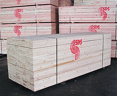 1st pictured is a unit of SDS White Fir stud 2x4/10